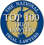 National Trial Lawyers Top 100 Badge