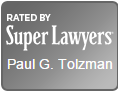 Paul G. Tolzman Super Lawyers Badge